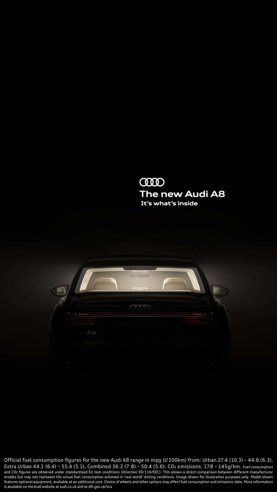 The new Audi A8 - It's what's inside