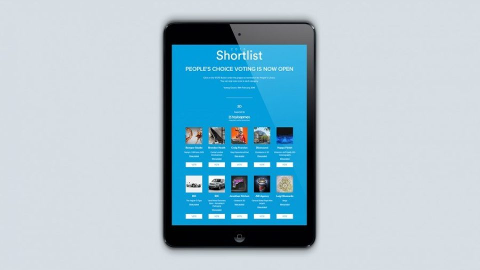SHORTLISTED: Creativepool Annual 2016
