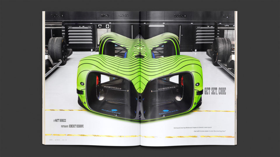 NEW WORK: Roborace
