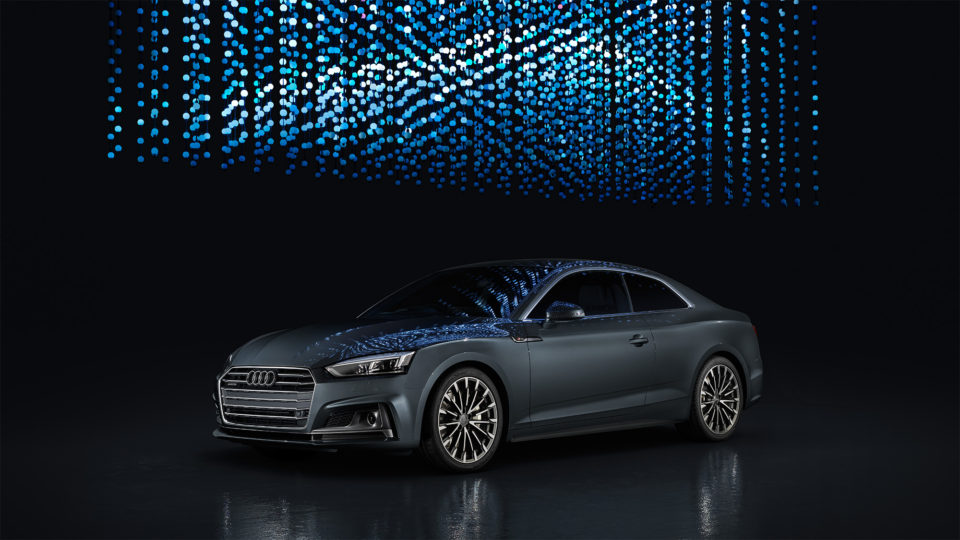 The all-new Audi A5