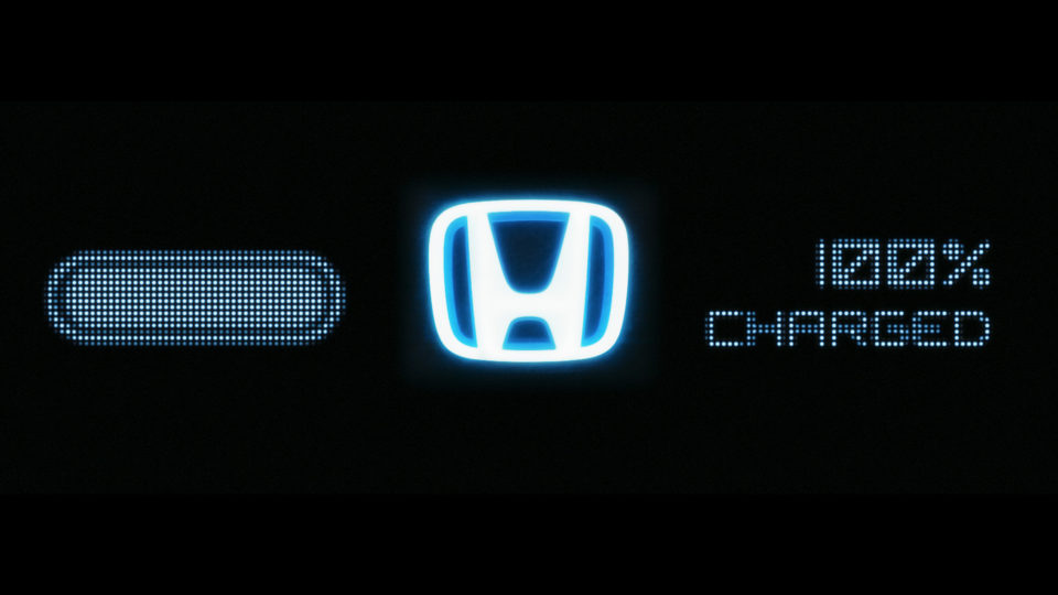 NEW WORK: 100% Charged for Honda