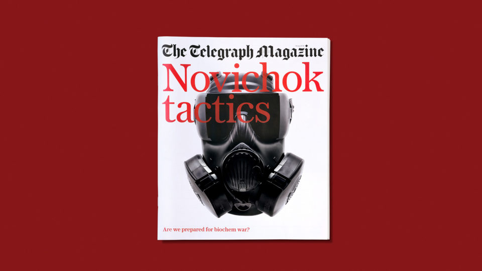 A statement cover for the Telegraph Magazine